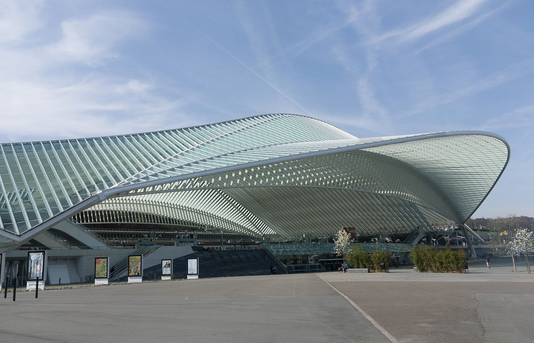 Liege Guillemins train station